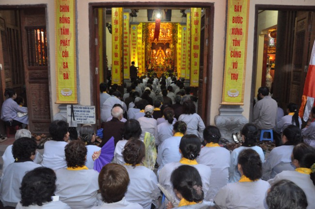 Hà Nội: Lễ Phật đản chùa Lý Triều Quốc Sư