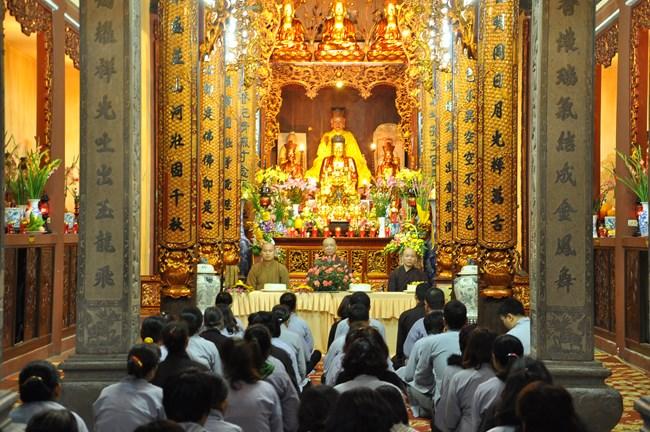 CLB TTNPT chùa Bằng - chùa Lý Triều Quốc Sư kính mừng ngày 20-11