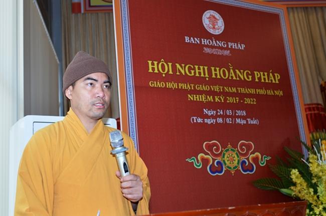 Hội nghị ban hoằng pháp GHPGVN TP Hà Nội