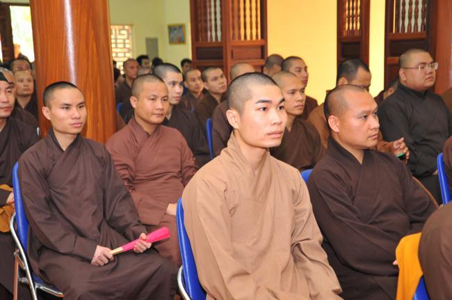Trường Trung cấp Phật học Hà Nội khai giảng khóa VIII (2018 – 2022)