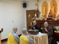 HT Thích Bảo Nghiêm thuyết giảng tại chùa Khai Nguyên